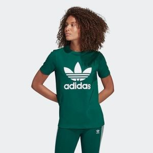 New with tags adidas originals green T-shirt